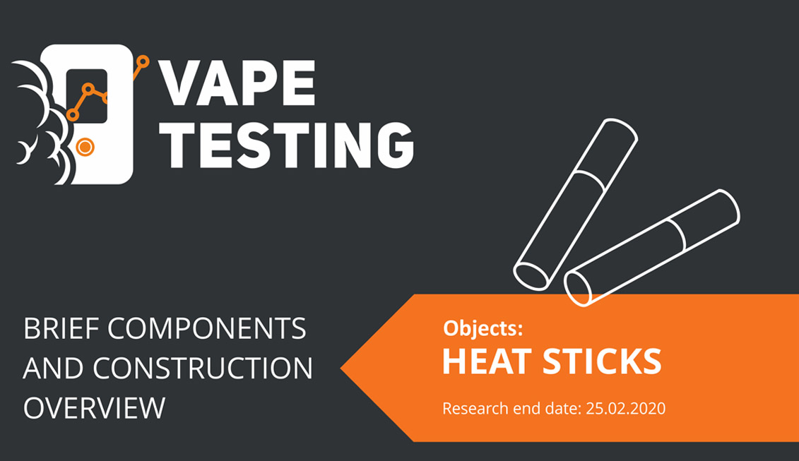 Heat Sticks Brief Components and Construction Overview of All brands Report